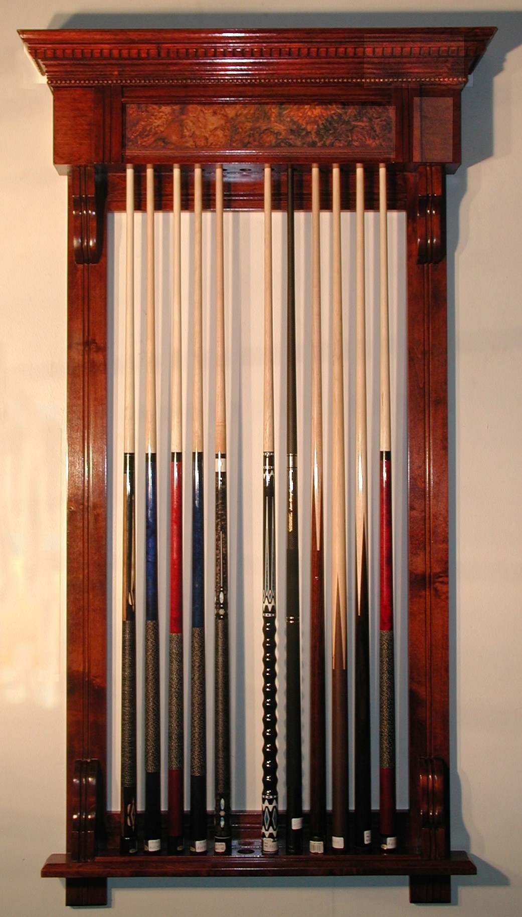 Snooker Cue Racks From Hubble Sports Est 1910