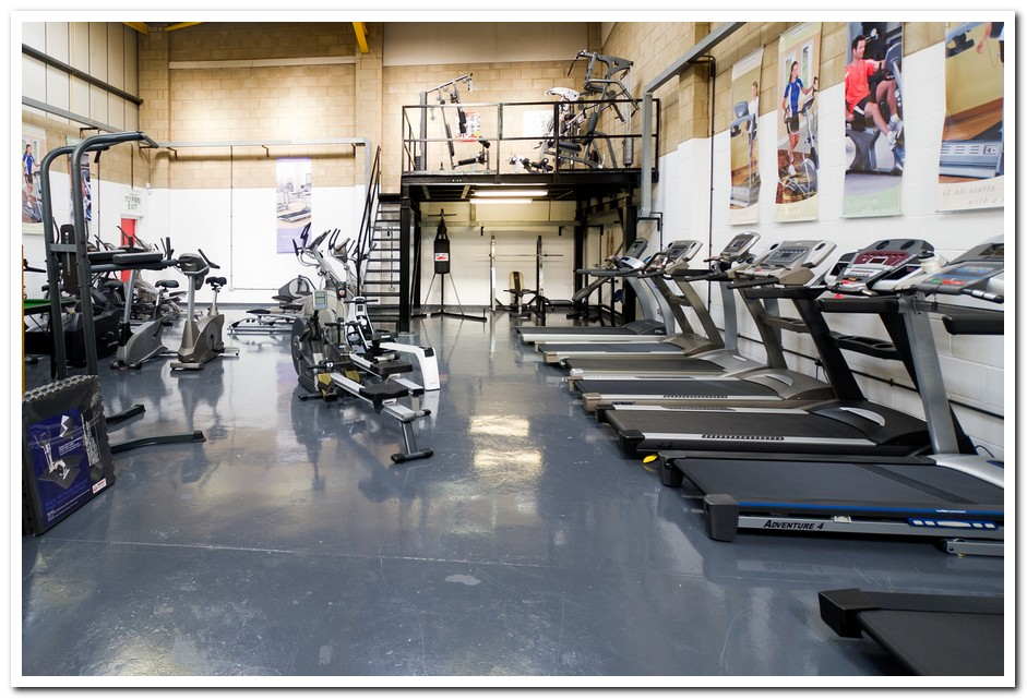 Fitness Equipment At Aylesford Maidstone Kent From Hubble