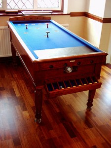 Oak Snookerette Bar Billiard Table