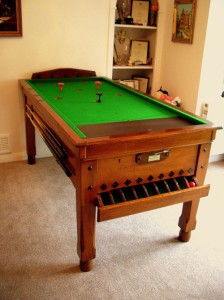 SAMS Mahogany Bar Billiard Table