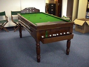 Oak Jelks Bar Billiard Table