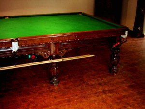 George Wright Billiard Table
