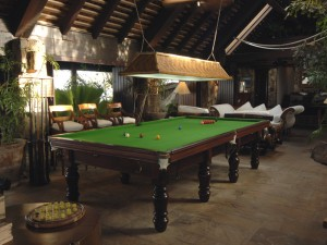 Original Billiard Table on Necker Island