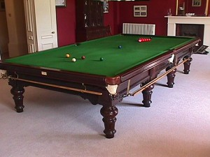 Traditional Victorian Billiard Table