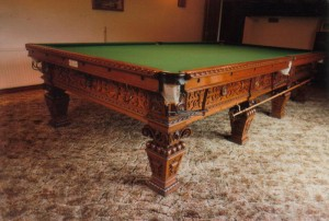 Thurston Elizabethan Snooker Table