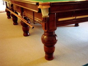 William Orme Oak Snooker Table