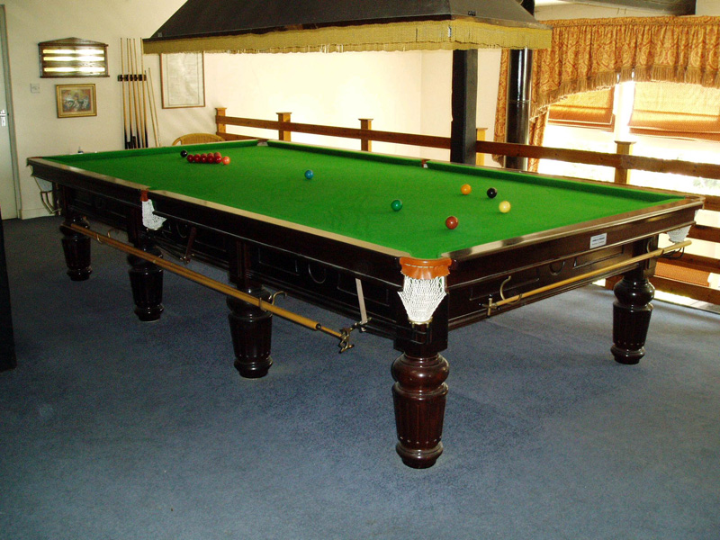 Conway President Mahogany Snooker Table