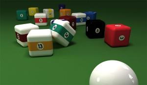 Square Pool Balls