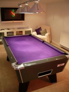 Graphite Pool Table