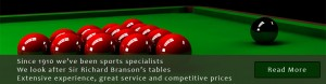 Snooker Tables Pool Table Bar Billiard Tables from Hubble Sports since 1910