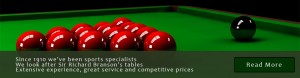 Snooker Tables Pool Table Bar Billiards Tables since 1910 from Hubble Sports