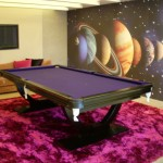 Omega Purple Pool Dining Table