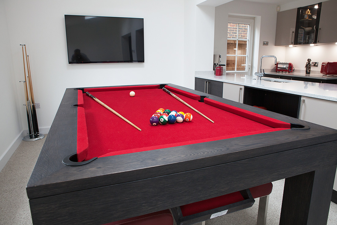 pool table dining tables. Black Bedroom Furniture Sets. Home Design Ideas