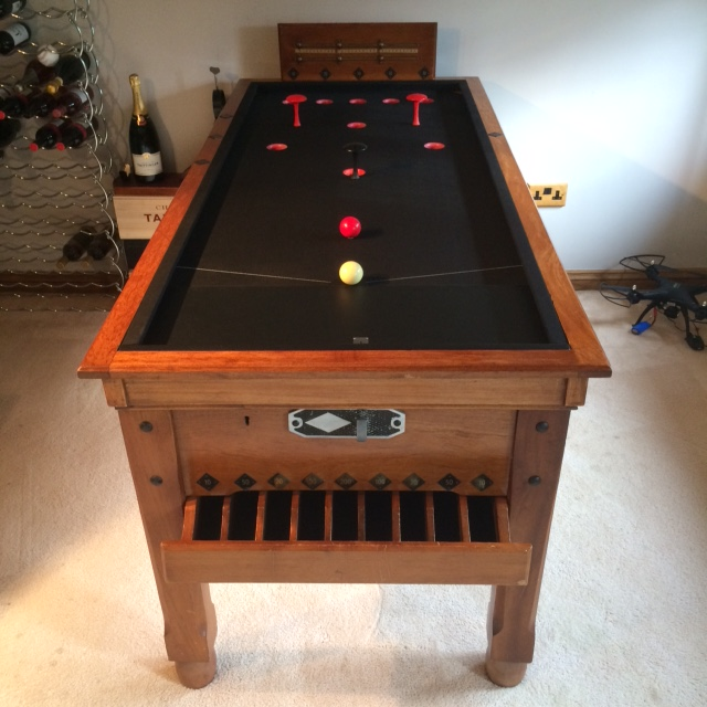 Stupendous Bar Billiard Tables Antique Bespoke Custom Bar Billiards Home Interior And Landscaping Dextoversignezvosmurscom