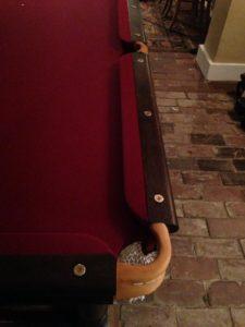 Bespoke pool table