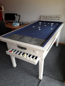 Cornforth White Bar Billiard Table
