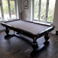 Tudor Elizabethan Custom Pool Table Diner
