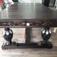 Tudor Elizabethan Custom Pool Table