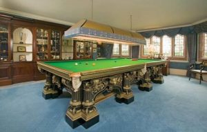 Gillows Snooker Table