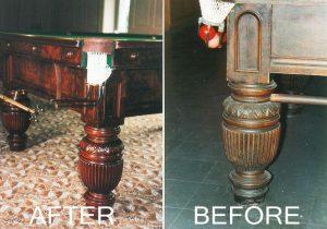 Snooker Table Restoration