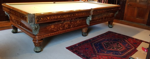 Antique Billiard Table Renovation