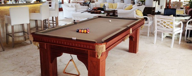 Snooker table size